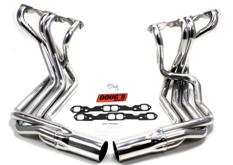 DOUG'S HEADERS side pipes traitement céramique Corvette 68-82 small block